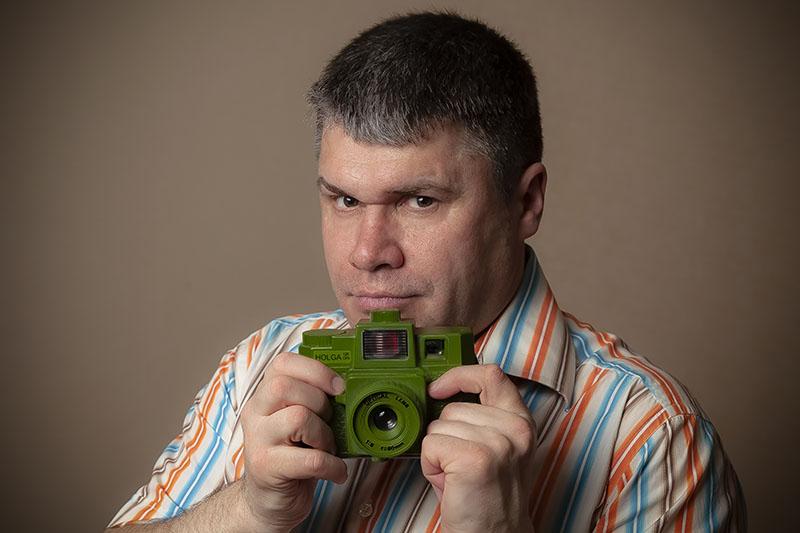 Self Portrait Of Sergey Gelman